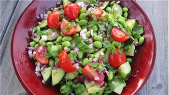 gröna sojabönor recept