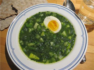 recept hackad grönkål